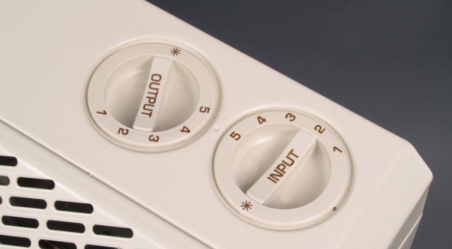 Storage Heater Dials
